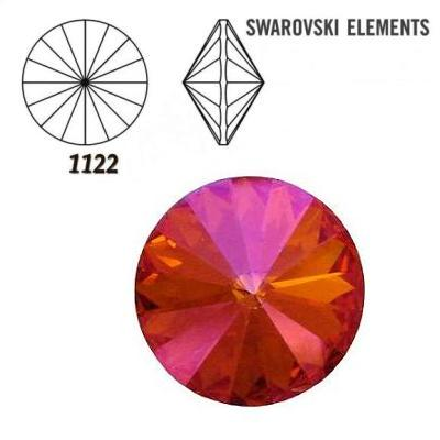 Rivoli – Crystal Astral Pink Foiled – 8 mm