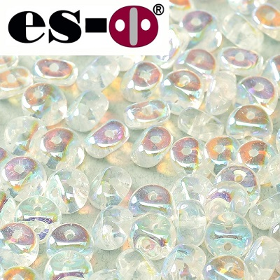 ES-O BEAD 5 mm - Crystal Full AB (00030 28703), 5 g