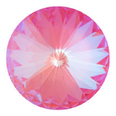 Rivoli – Crystal Lotus Pink Delite – 12 mm