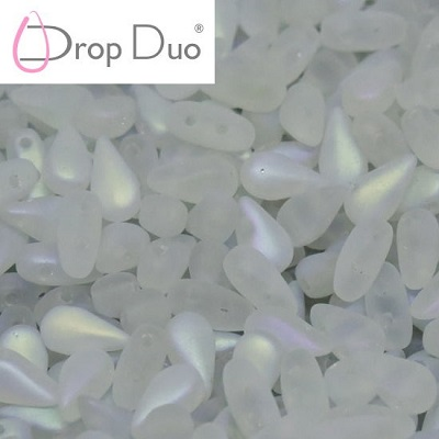 DropDuo - Crystal Full AB Matted (00030 28773), 30 ks