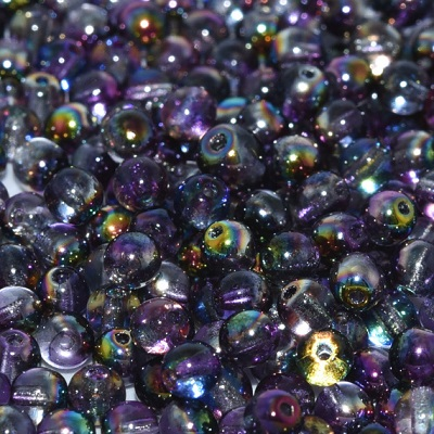 Guľôčky - Crystal Magic Purple, 3 mm, 50 ks