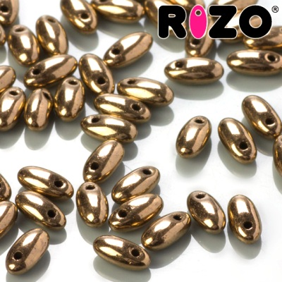 RIZO 2,5x6 mm - Gold Bronze (90215JT), 10 g