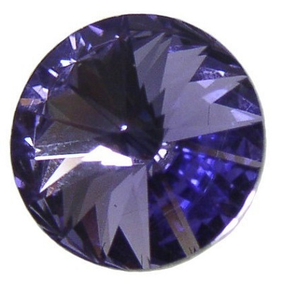 Rivoli – Tanzanite Foiled – 8 mm, 2 ks