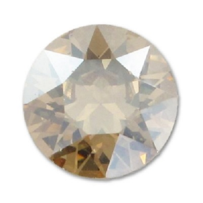 Chaton 1088 – Crystal Golden Shadow Foiled – 8 mm, 2 ks