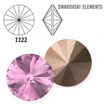 Rivoli – Light Amethyst Foiled – 8 mm, 2 ks