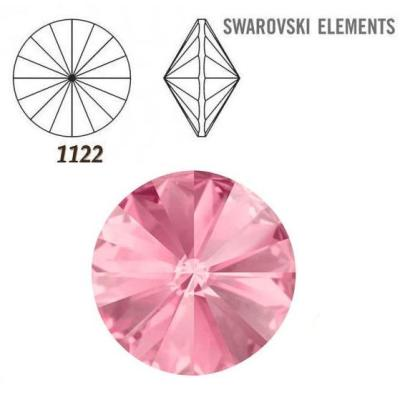 Rivoli – Light Rose Foiled – 14 mm