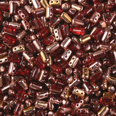 RULLA 3x5 mm - Copper Siam Ruby (C90080), 10 g
