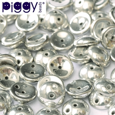 Piggy 4x8 mm - Crystal Labrador Full (00030 27000), 30 ks