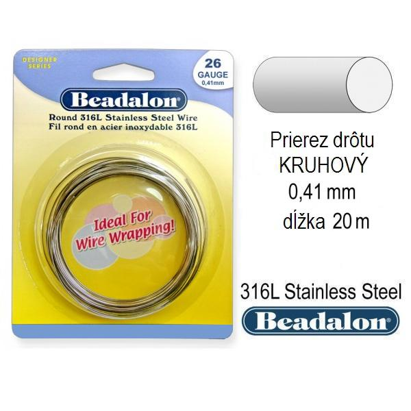 BEADALON 0,41 mm, 20 m